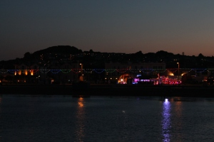 Paignton at night - from the pier