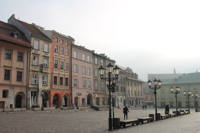 Misty morning at Maly Rynek