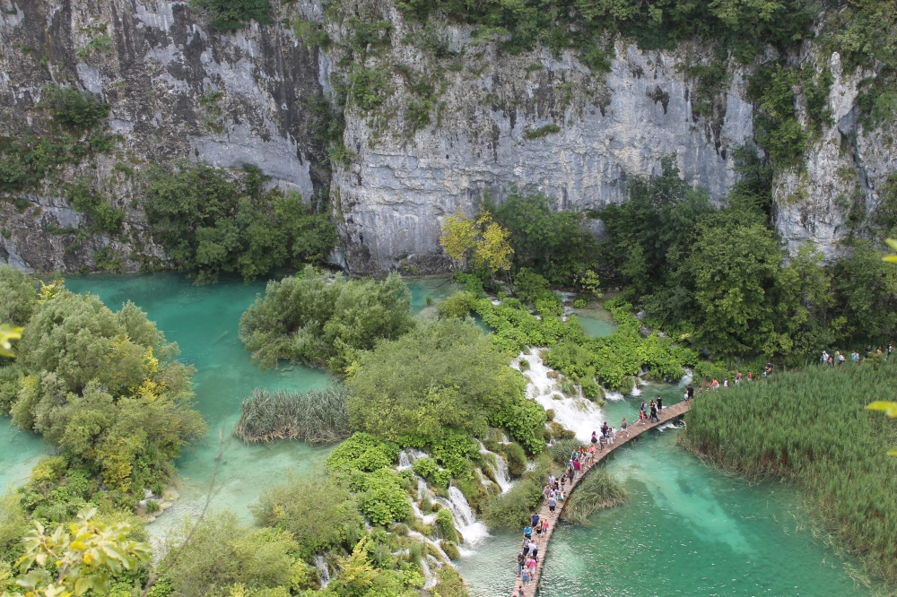 Plitvicka lakes in Croatia