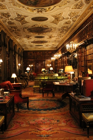 Chatsworth - library