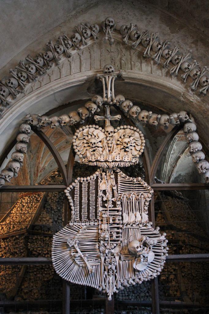 kostnice, Kutna Hora, human bones, Czech republic