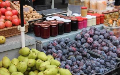 Food market in Vilnius