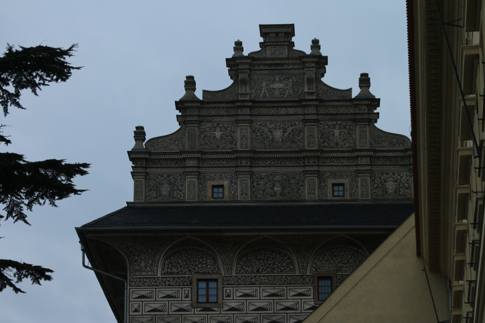 Ornate building in Prague