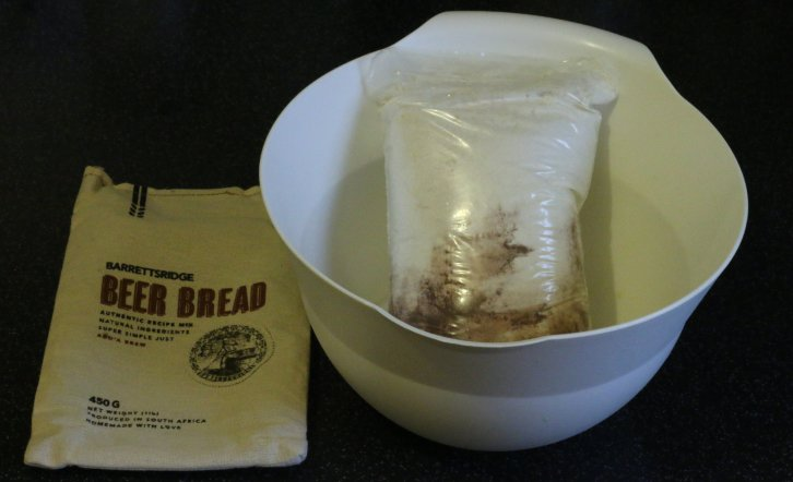 Beer bread mixture - chocolate flavour