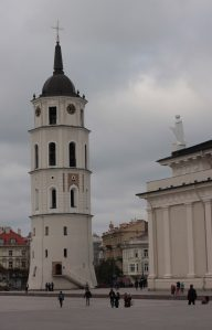 Clock tower in Vilnius