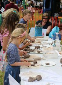 Etruria Canal Festival - clay workshop