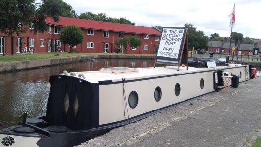 Oatcake boat - Stoke on Trent