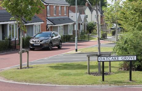 Oatcake street - Stoke on Trent