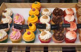 Cupcakes food market