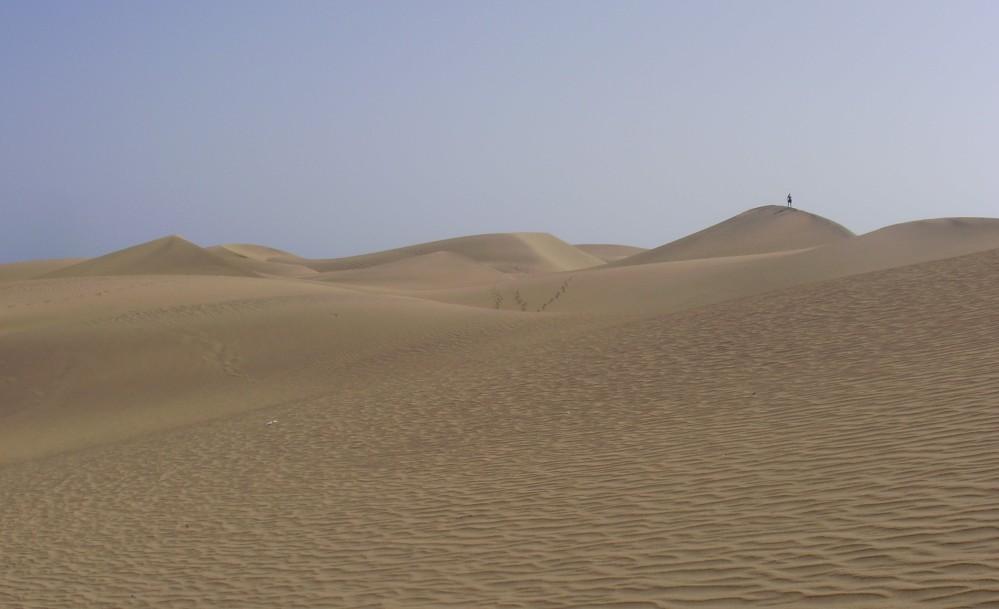 sand dunes, desert, Maspalomas