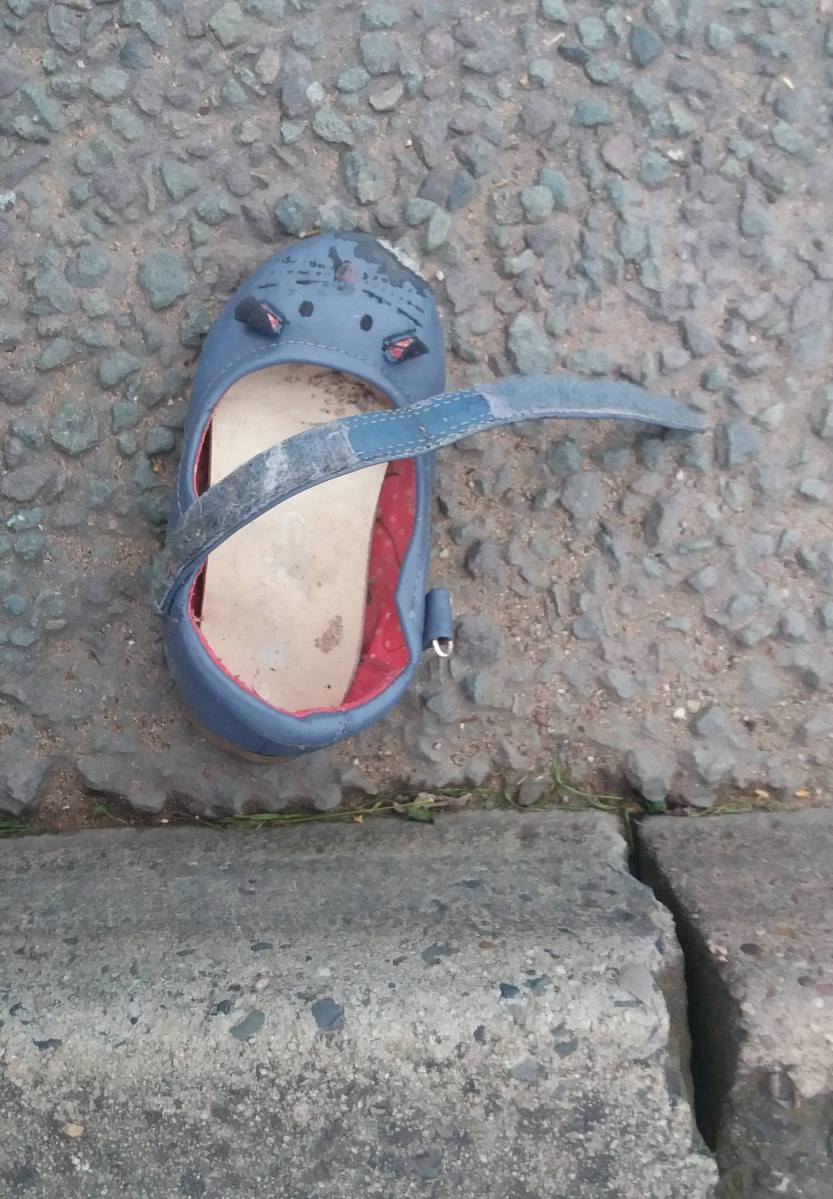 Abandoned shoes and some more weird stuff in Stoke on Trent
