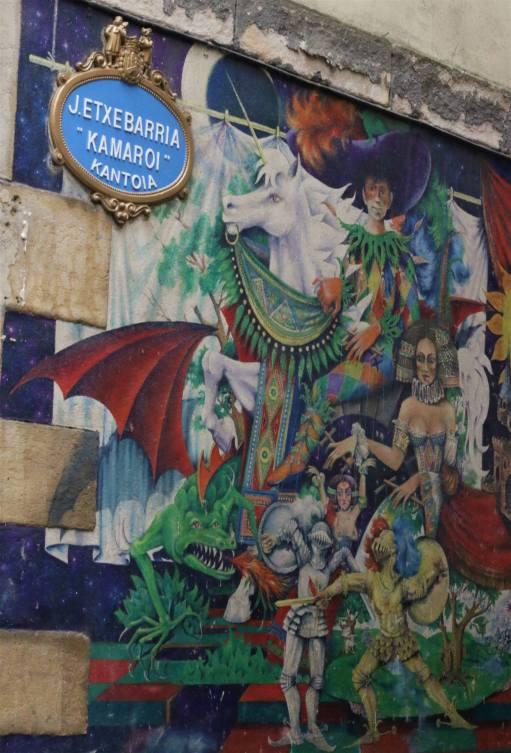 Street art - graffiti - in Bilbao