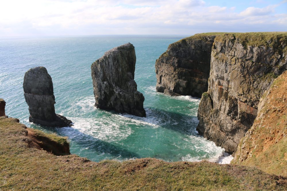 Stack rocks, Pembrokeshire, Wales