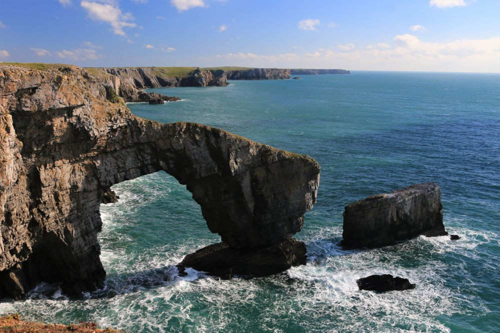 Green Bridge of Wales, Pembrokeshire, Wales