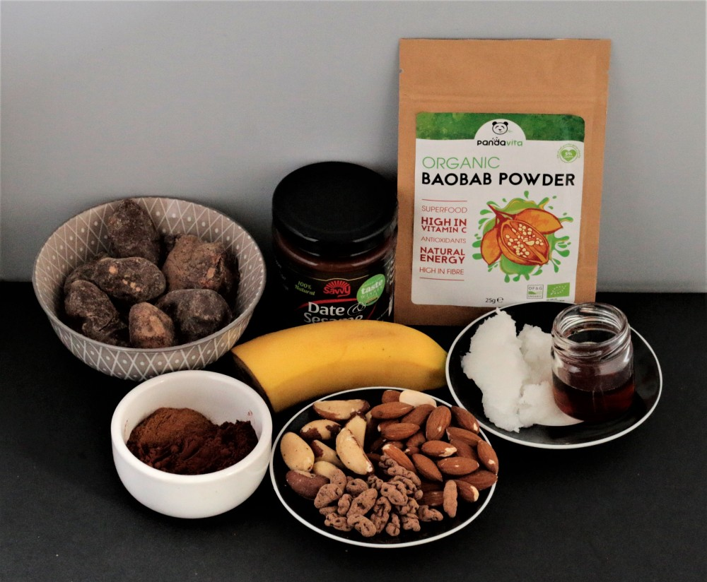 Nutritious baobab powder ingredients pandavita