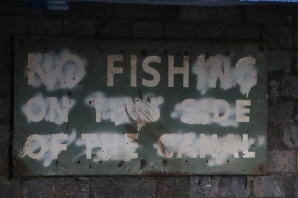 Stoke on Trent street art sign