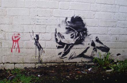 Stoke on Trent city centre street art