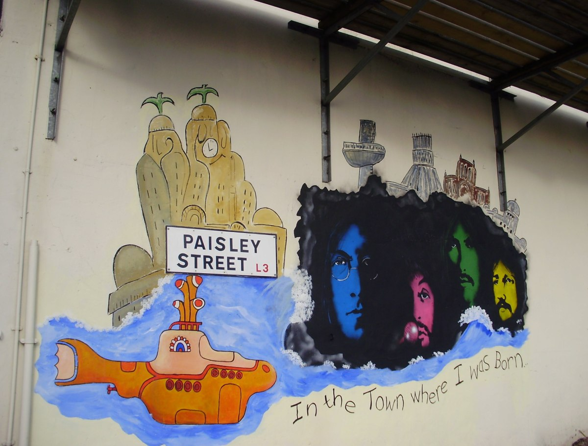 Street art Saturday: Liverpool, Glasgow and Edinburgh