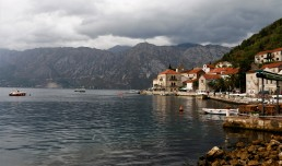 Perast Montenegro Kotor Bay