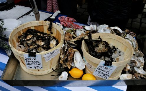 Oysters at the Street Food Festival
