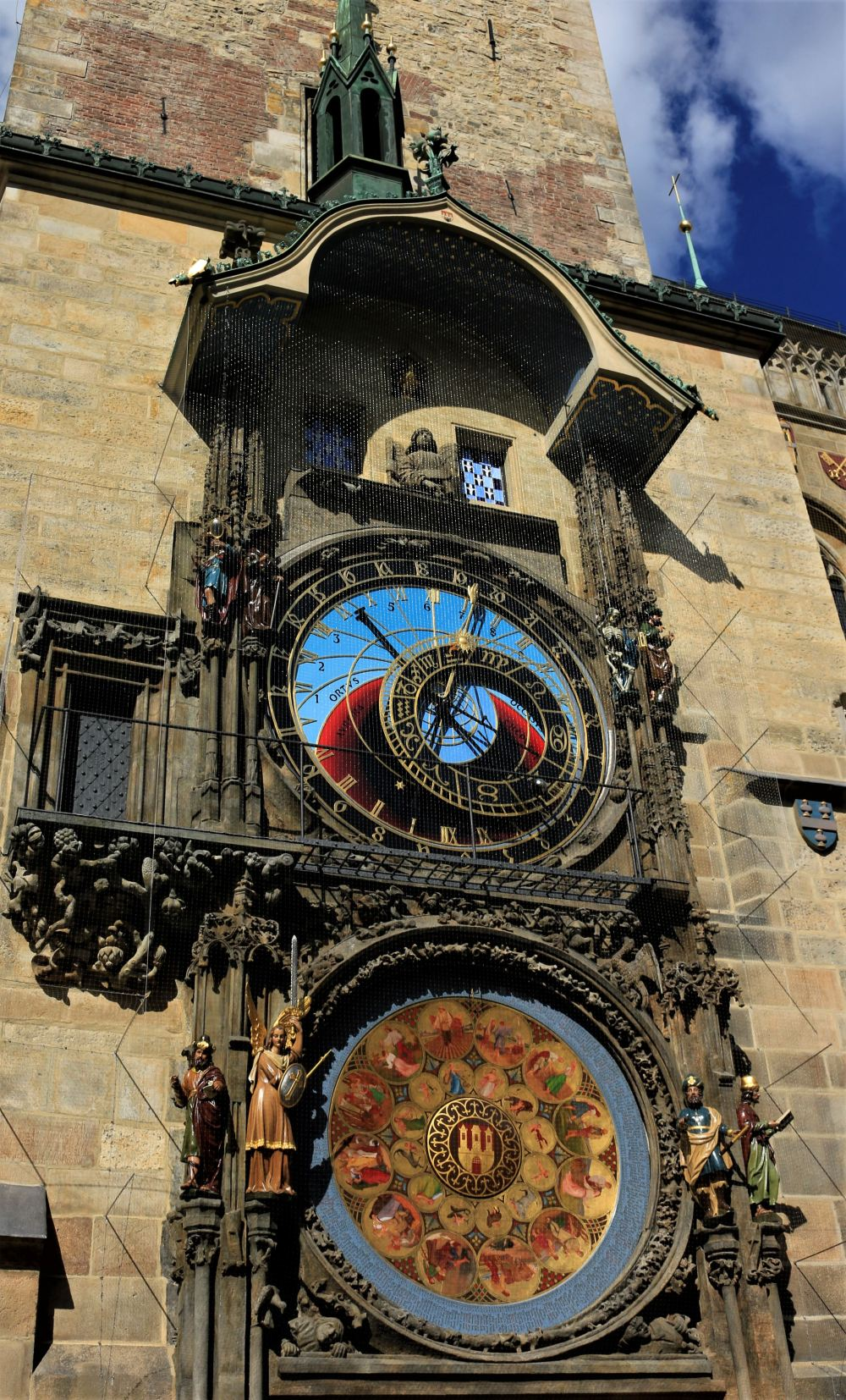 Astronomical Clock at the Old Town Square in Prague