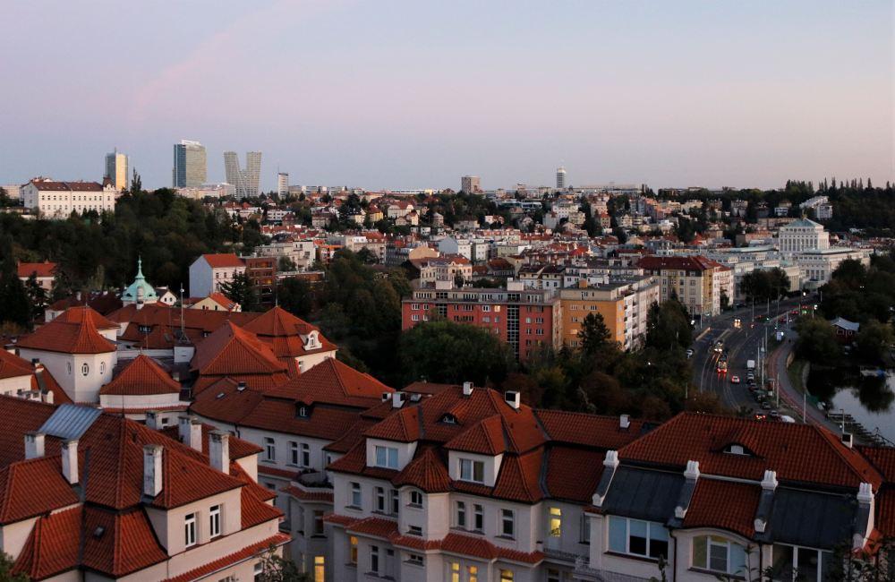 Pankrác, Podolí, Prague, cityspace, cityline