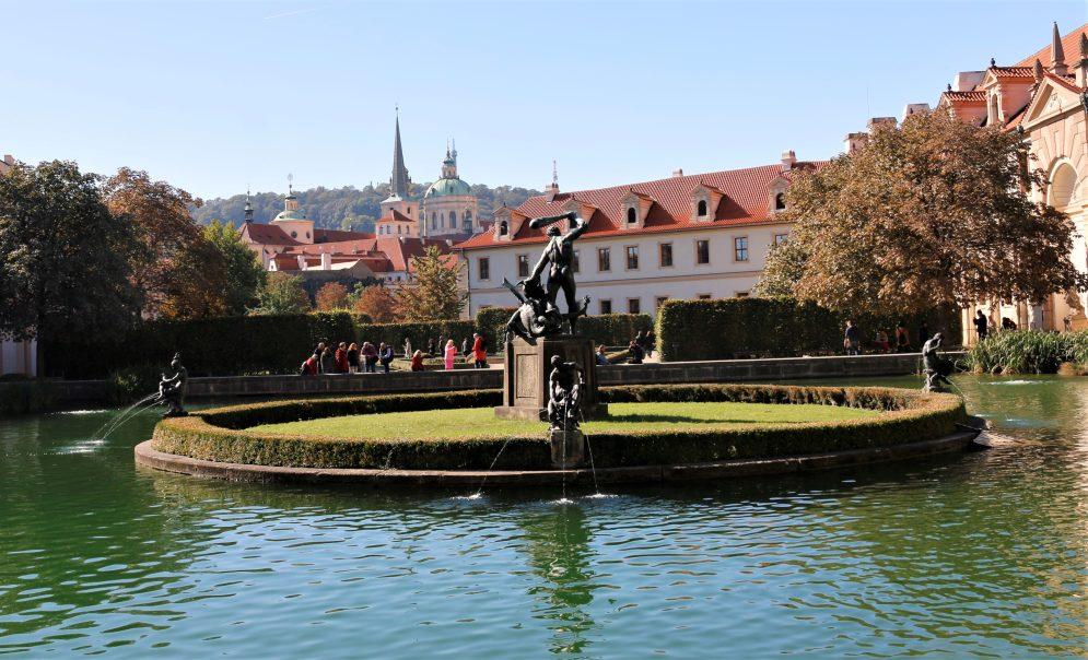 Wallenstein Garden in Prague